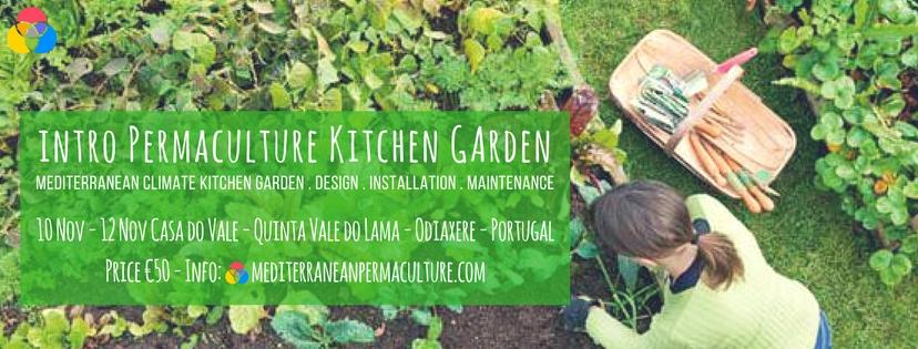 Introduction to Permaculture Kitchen Garden – 10th till 12th of November
